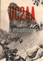 Simeiz - Diva Rock - Crimea - UC2AA - QSL Card - 1959 - Ukraine USSR - Used - Carte QSL
