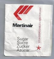 Suikerzakje.- MARTINAIR. Suiker Sucre Zucchero Zucker Sugar - Suiker