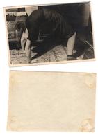 1940s Original 9x6 Photo Vintage Teenager Child Girl Pants Acrobat USSR Russia (5584 - Pin-ups