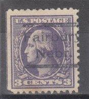 USA Precancel Vorausentwertung Preo, Locals Nebraska, Fairbury 525, Offset - Vereinigte Staaten