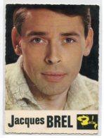 ARTISTE Chanteur Jacques BREL Avec Véritable Signature Stylo Bille Noir  Publicité Disques Barclay    D02  2020 - Artistas