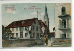 ISRAEL JAFFA The German Church Eglise Allemande Quartier De La Ville   D02 2020 - Israël