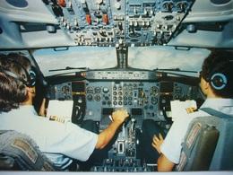 Avion / Airplane / SABENA  / Boeing B 737-300 / Cockpit / Airline Issue - 1946-....: Modern Tijdperk