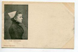 44 MACHECOUL Jeune Fille Coiffe Machecoulaise 1900 Dos Non Divisé  - Edit Dugas   D02 2020 - Machecoul