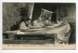 60 BEAUVAIS Artistes Tapissiers Atelier Manufacture Nationale - LL 497   - 1910   D02 2020 - Beauvais
