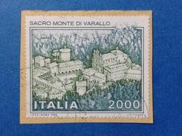 1986 ITALIA SACRO MONTE DI VARALLO FRANCOBOLLO USATO ITALY STAMP USED - 6. 1946-.. Republic