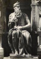 Roma - Cartolina Antica MOSÉ Di Michelangelo, S. Pietro In Vincoli (1-38), Brunner&C. - PERFETTA R22 - Religione & Esoterismo
