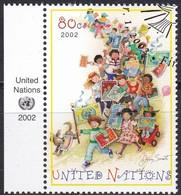 UNO-New York , 2002, 889, Freimarke.  Used First Day Oo - Gebraucht