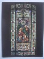 N99 Postcard Canada - Quebec - Eglise St-Jean Baptiste, Vitrail - Bapteme De Jesus Par Jean Le Baptiste - Québec - La Citadelle
