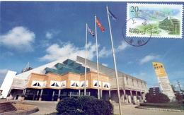 CINA LA NUVELLE ZONE DE DEVELOPPMENT DE PUNTONG A SHANGHAI MAXIMUM POST CARD  (GENN200755) - Ponti