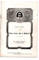"""PROGRAMME. THÉÂTRE DE LA GAÎTÉ . """" VOUS N'AVEZ RIEN À DÉCLARER """" . F. GALIPAUX, DELMARÈS, R. MAUREL - Réf. N° 80P - - Programme"""