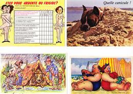 30 Cartes Humoristiques  ( 3 Scans ) - Cartoline