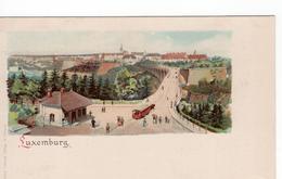 Luxembourg - Luxemburg - Litho - 1900 - Non Classificati