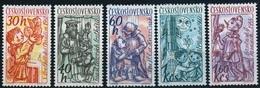 1961 Czechoslovakia MNH - Mi 1275-1279 Yv 1156-1160 ** MNH - Tschechoslowakei/CSSR