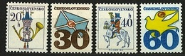 1974 Czechoslovakia MNH - Mi 2228-2231 ** MNH - Tschechoslowakei/CSSR
