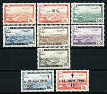 Argelia (Francesa) Aéreo-1/6**-7/8* Nuevo - Algeria (1924-1962)