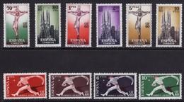 España 1960. CIF 60. Ed 1280 / 1289. MNH. **. - 1951-60 Ungebraucht