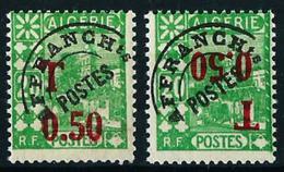 Argelia (Francesa) Tasa-28/28a** Cat.25,30€ - Algeria (1924-1962)