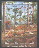 PK024 1995 PALAU DINOSAURS WINGED REPTILES OF ANCIENT SKIES 1SH MNH - Timbres