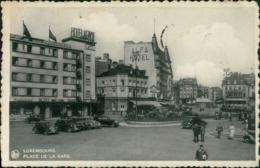 LU LUXEMBOURG /  Place De La Gare / Carte Vernie - Luxembourg - Ville