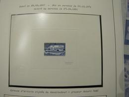 EPREUVE D'ARTISTE DU N° 1615 ** LE S.N.L.E LE REDOUTABLE - Pruebas De Lujo