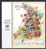 UNO-New York , 2002, 889, Freimarke.  MNH ** - New York -  VN Hauptquartier