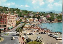 ITALIE - S. MARGHERITA LIGURE - Promenade à La Mer - Voiture : Citroen DS - Renault Dauphine - Peugeot 403 - Etc... - Autres