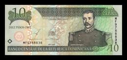 República Dominicana 10 Pesos Oro 2003 Pick 168c SC UNC - República Dominicana