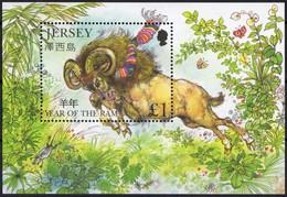 Jersey 2003 Yvertyn°  Bloc 46 *** MNH Cote 5 € Faune - Jersey