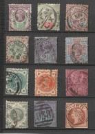 GRANDE BRETAGNE - Lot 15 Timbres - 1840-1901 (Victoria)