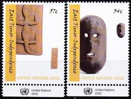 UNO-New York , 2002, 894/95, Unabhängigkeit Osttimors. MNH ** - New York -  VN Hauptquartier