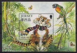 Jersey 1998 Yvertn° Bloc 20 *** MNH Cote 5,00 Euro Faune - Jersey
