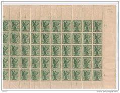 REGNO: 1921  VITTORIA  ALATA  -  S. CPL. 4 VAL. FGL. 50  N. -  SASS. 119b + 120a + 121b + 122b  -  INSIEME  FORSE  UNICO - 1900-44 Vittorio Emanuele III