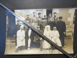 Militaria - Carte Photo - WW 1 -  Hôpital 5 - Commandant Chirurgien Lenormant De Parre -  1917 B.E - Weltkrieg 1914-18