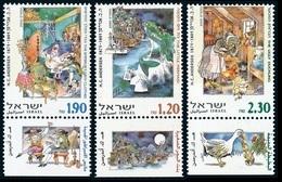 2000Israel1546-1548Andersen's Fairy Tales3,60 € - Nuevos (con Tab)