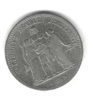 FRANCE – 5 Francs 1848 A - J. 5 Franchi