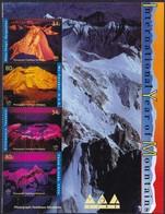 UNO-New-York, 2002, 896/99, Jahr Der Berge. MNH ** - New York -  VN Hauptquartier