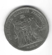 FRANCE – 5 Francs 1873 A - J. 5 Franchi