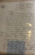 TRELON Naissance Romaire Aime Olivier Dorchir 1792 Copie De L Acte 1813 - Naissance & Baptême