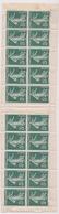 FRANCE - CARNET - N°137c.  Carnet De 20 Timbres Sans Couverture. - Definitives