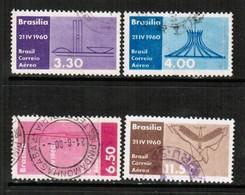 BRAZIL  Scott # C 95-8 VF USED (Stamp Scan # 572) - Luchtpost