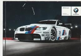 CARTULINA DE PUBLICIDAD. COCHE. BMW M3. (915). - Turismo