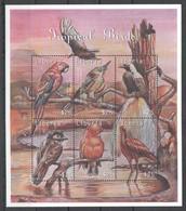 PK135 LIBERIA FAUNA TROPICAL BIRDS 1KB MNH - Pájaros