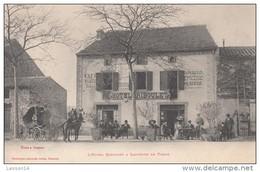 81 Tanus - Hôtel Riboulet à Lacabane De Tanus - Commerce - Animation - Attelage - Epicerie - Francia