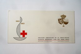 COB 1267A** - Neuf – 1963 – Centenaire De La Croix-Rouge Internationale. Carnets : Prince Albert Et Princesse Paola - Carnets 1953-....