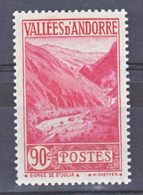 Andorre  38 Paysage Neuf * * TB Aspect MNH Sin Charmela Cote 13.5 - French Andorra