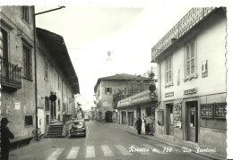Rovetta (Bergamo) Via Fantoni, Auto D'Epoca, Car, Voiture - Bergamo