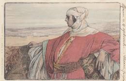 Illustratori - Illustrateur - Collection Du Cent  - L.A. Girardot - Donna In Abito Medioevale  - Splendida - Illustratori & Fotografie