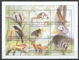 PK200 MOCAMBIQUE FAUNA WILD ANIMALS BIRDS 1SH MNH - Sellos