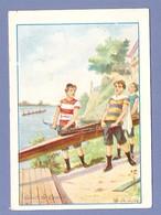 CHROMO SPORT - AVIRON CANOT De GRANDE COURSE - Rowing